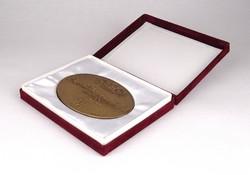 1C749 Kligl Sándor : Szeged bronz plakett 1498