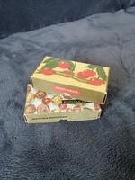 Retro konyakmeggy dobozok