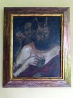 Benczúr Gyula Faun-t ábrázoló festmény