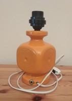 Jelzett, iparművészeti, kerámia, asztali lámpa (retro) eladó