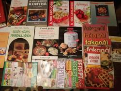 Szakácskönyv gyűjtemény