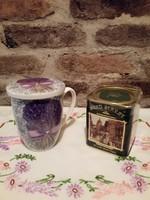 Teás bögre doboz angol teával  Új!