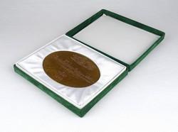 1C751 Kligl Sándor : Szeged bronz plakett 1498