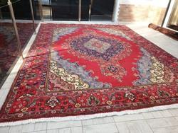 Főúri méretű iráni nafs  300x400 kézi csomózású gyapjú perzsa szőnyeg MM_502