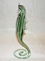 Csikóhal Murábói üveg Figura 23 cm