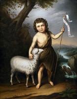 E.K. jelzéssel 19. század ! Ecce Agnus Dei