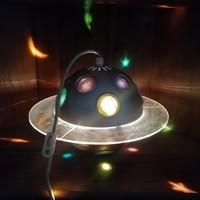 Blimp ikea planet ufo  mennyezeti lámpa.Alkudható!