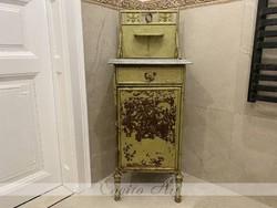 Antik vas szekrényke (eredeti vintage)