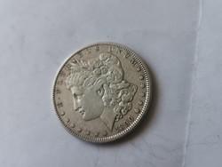 1890 USA ezüst 1 dollár 26,7 gramm 0,900 Szép darab
