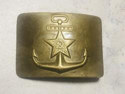 Szovjet katonai haditengerészeti övcsat