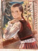 RÓNA KLÁRA 1901 - 1987- ERZSIKE-