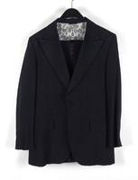1C855 Fekete színű amerikai öltönykabát és nadrág SWANTZ SONS BALTIMORE MARYLAND USA