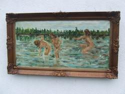Fürdőzők