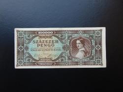100000 pengő 1945 M 611