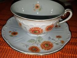 Zsolnay barokk ritka teás készlet