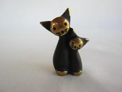 Walter Bosse tervezésű fém cica macska