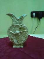 Schütz Cilli angyalkás majolika váza.