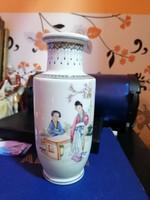 Gyönyörű Japán váza, 20cm!