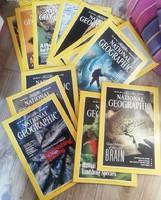 National Geographic 1995-1996 újságok egyben 13 db