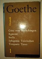 Goethe: Drámák 1.  1963