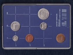 Hollandia 1986 forgalmi sor szett (id40841)