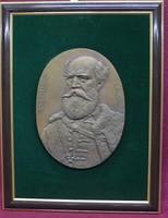Domonkos Béla, Batthyány Lajos nagyméretű bronz plakett