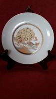 Pávás porcelán tányér 2.
