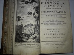 Grossinger:Universa Historia  Physica Regni Hungariae