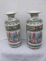Kínai padló váza kettő darab
