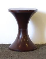 1C658 Retro design barna műanyag szék pille szék