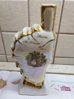 Porcelán díszüveg , irizáló francia porcelán üveg,szobor eladó!