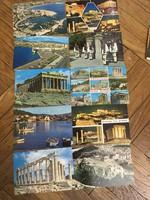 Különleges 134 darabos 1970-80-as évekbeli képeslap gyűjtemény és krakkói leporelló