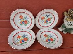 Gránit virágos falitányér, falitányérok,  tányér, Gyűjtői szépség