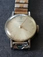 Vintage Tissot női aranyozott mechanikus óra