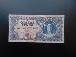 500 pengő 1945 K 102