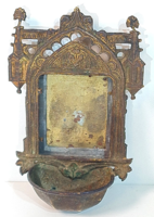 Antik réz szenteltvíztartó