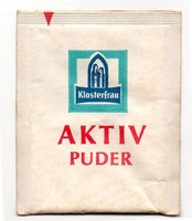 Klosterfrau Aktiv Puder bontatlan csomag 70-es évek