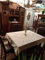6 db-os szecessziós ebédlő étkező bútor