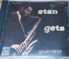 STAN GETZ QUARTETS   -  JAZZ CD