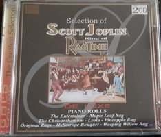 SCOTT JOPLIN  -  DUPLA CD   - JAZZ