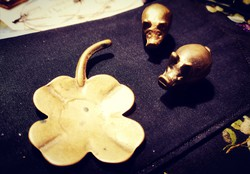Bronz öntvény miniatűr szerencsemalacka
