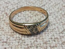 Női arany gyűrű, 14K