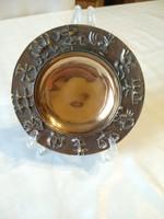 Máté János eredeti iparművészeti bronz horoszkóp, zodiákus tányér, ajánljon!