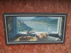 Mónus Sándor - Olaj-Vászon Festmény