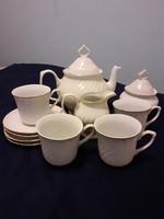 Elegáns Apulum porcelán teás készlet (4 személyes)