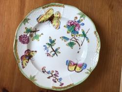 Antik Herendi Victoria desszertes tányér az 1914-ből