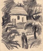 Deli Antal (1886-1960): Hazafelé.
