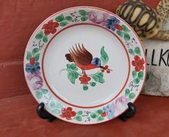 Gyönyörű madaras  falitányér,   tányér, nosztalgia darab