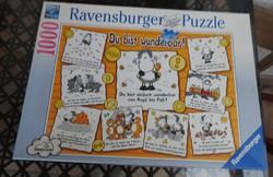 RAVENSBURGER PUZZLE PREMIUM  1000 db / Du bist wunderbar!
