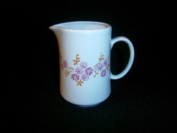 Alföldi porcelán virág mintás tejkiöntő